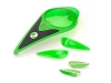 Накладки для ROTOR 09 Lime Green, лайм (Kit-Color-ROTOR-LIME)